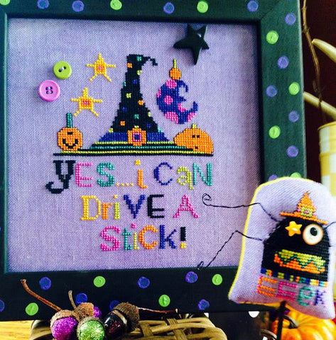 Amy Bruecken Designs ~ Drive A Stich w/button pack