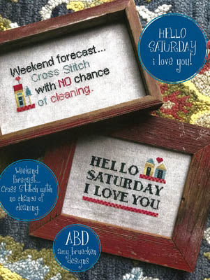 Amy Bruecken Designs ~ Hello Saturday
