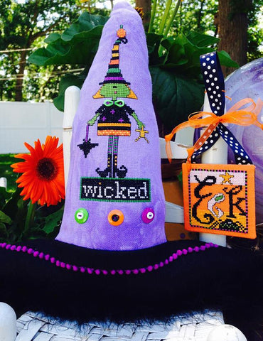 Amy Bruecken Designs ~ Just A Little Wicked w/button pack