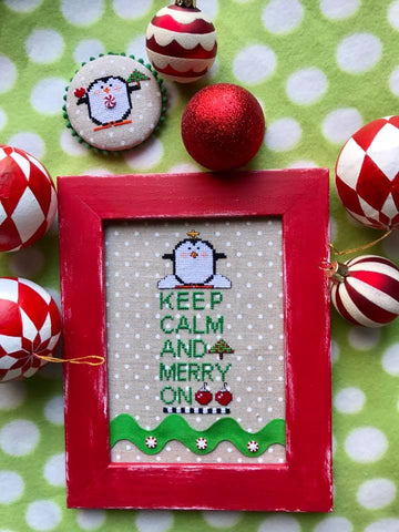 Amy Bruecken Designs ~ Keep Calm & Merry On
