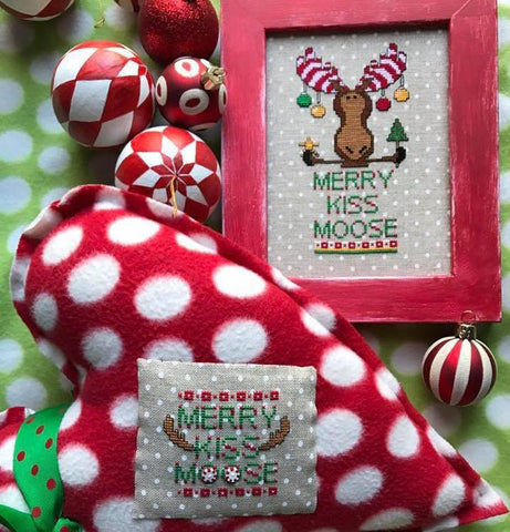 Amy Bruecken Designs ~ Merry Kiss Moose