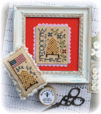 Annie Beez Folkart ~ Welcome To The Hive