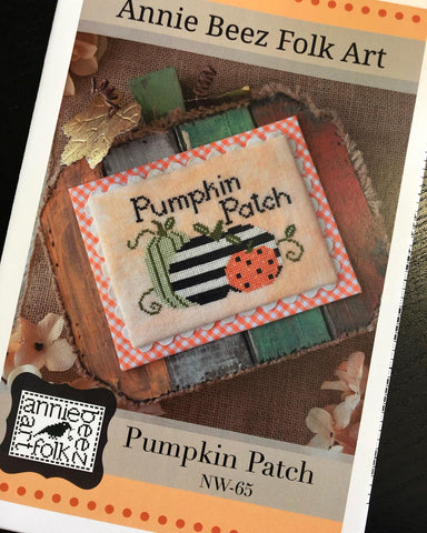 Annie Beez Folkart ~ Pumpkin Patch