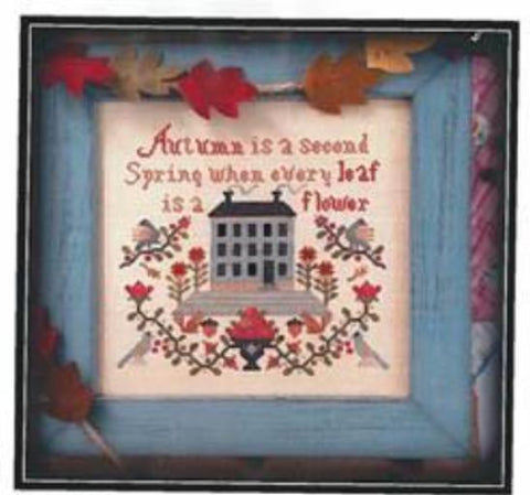 Annie Beez Folkart ~ Autumn Is A Second Spring