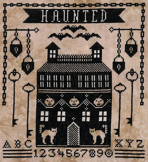 Artful Offerings ~ Haunted Manor House