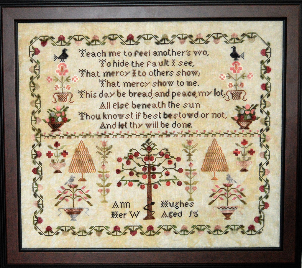 Abby Rose Designs ~ Ann Hughes, A Reproduction Sampler