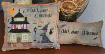 Abby Rose Designs ~ I Stitch Alone At Midnight