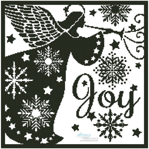 Artecy ~ Snowflake Angel Silhouette