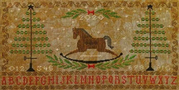 Artful Offerings ~ Rocking Horse Holiday Sampler