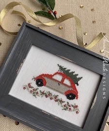 Annalee Waite Designs ~ Holiday Car