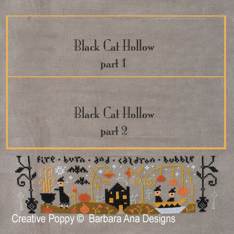 Barbara Ana Designs ~ Black Cat Hollow Part 3