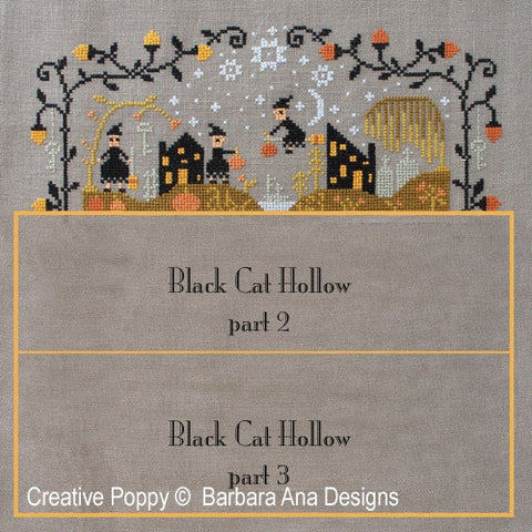 Barbara Ana Designs ~ Black Cat Hollow Part 1