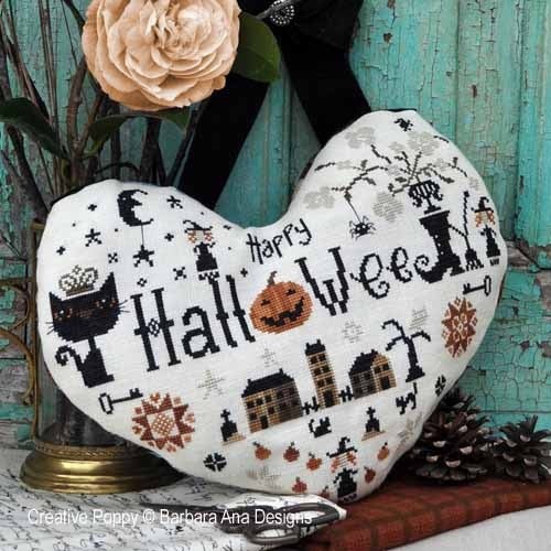 Barbara Ana Designs ~ Halloween Heart