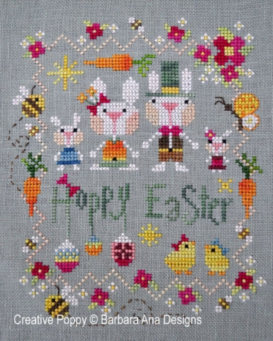 Barbara Ana Designs ~ Hoppy Easter