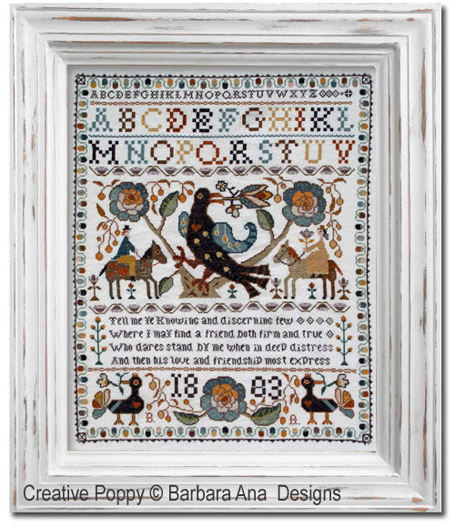 Barbara Ana Designs ~ Portuguese Bird Sampler