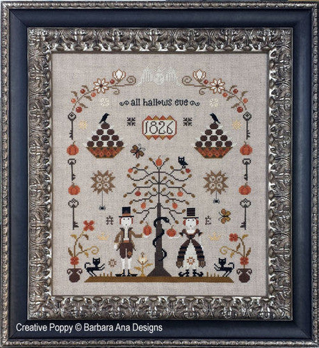Barbara Ana Designs ~ The Rampant Cats Sampler