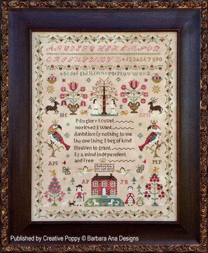 Barbara Ana Designs ~ The Snooty Parrots Sampler