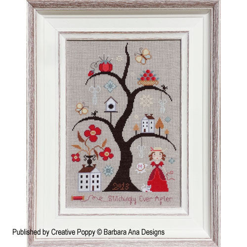 Barbara Ana Designs ~ Stitchingly Ever After