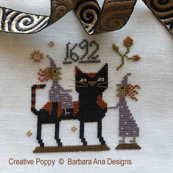 Barbara Ana Designs ~ Witch Cat?