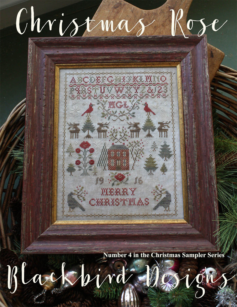 Blackbird Designs ~ Christmas Rose