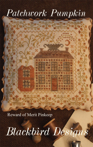Blackbird Designs ~ Patchwork Pumpkin
