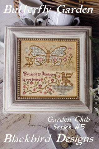 Blackbird Designs ~ Garden Club ~ Butterfly Garden