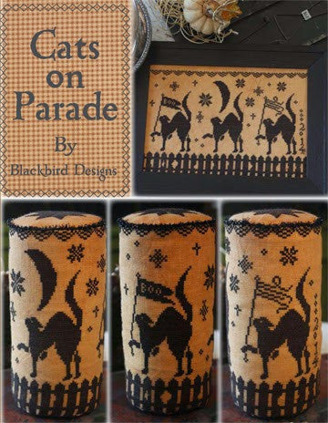Blackbird Designs ~ Cats On Parade