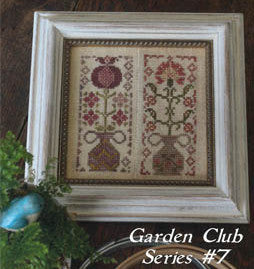 Blackbird Designs ~ Garden Club ~ Climbing The Trellis