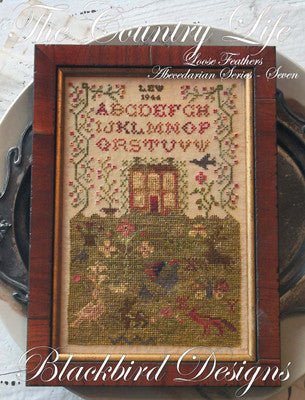 Blackbird Designs ~ Loose Feathers Abecedarian Series ~ The Country Life