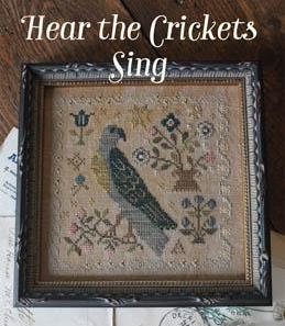 Blackbird Designs ~ Hear The Crickets Sing ~ #7 Loose Feathers For The Birds Series