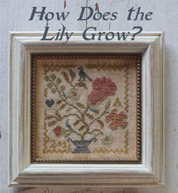Blackbird Designs - Garden Club #10 ~ How Does the Lily Grow?