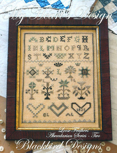Blackbird Designs ~ Loose Feathers Abecedarian Series ~ My Heart's Design