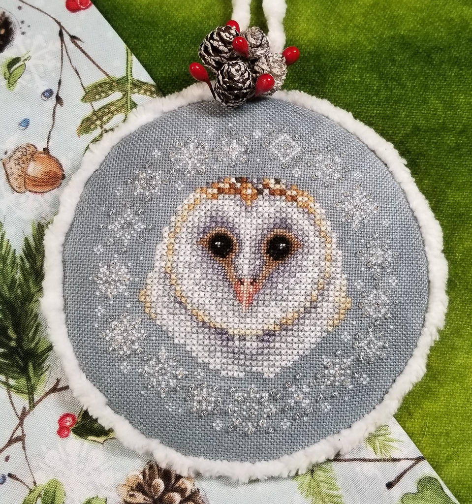 Blackberry Lane Designs ~ Winter Snow Owl