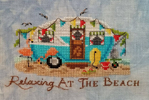 Blackberry Lane Designs ~ Relaxing at the Beach