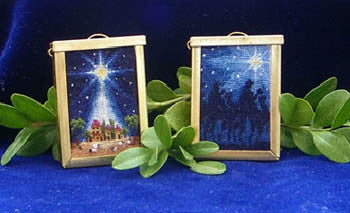 Blackberry Lane ~ Starry Starry Night I  (with pendant)