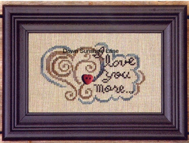 Bent Creek ~ I Love You More… w/button