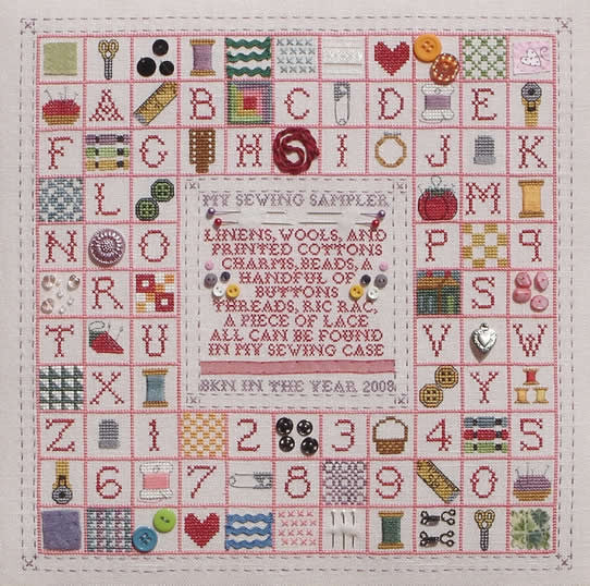 Blue Ribbon Designs ~ My Sewing Sampler
