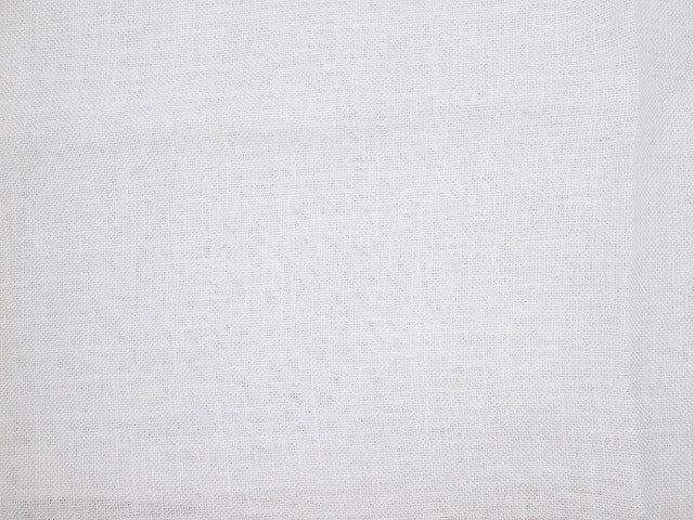 "28ct Linen Cashel ~ Antique White Fat 1/2 Plus 36"" X 30"""
