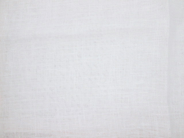 32ct Linen ~  Antique White ~ Fat 1/4