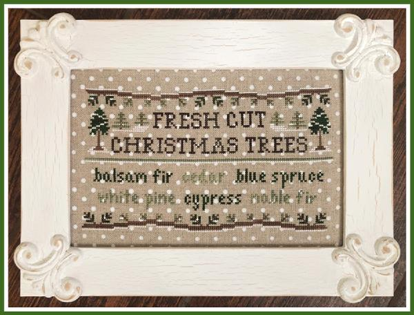 Country Cottage Needleworks ~ Fresh Cut Christmas Trees