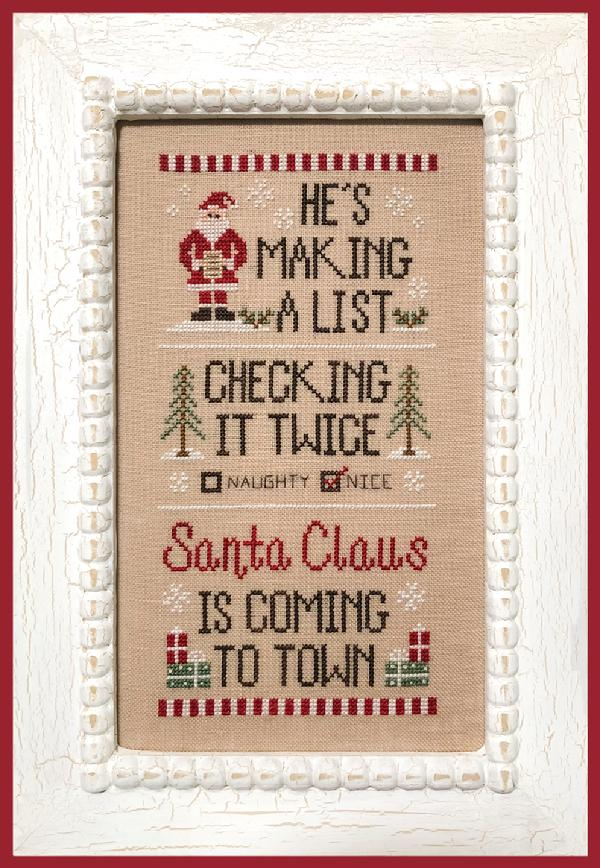 Country Cottage Needleworks ~ Santa's List
