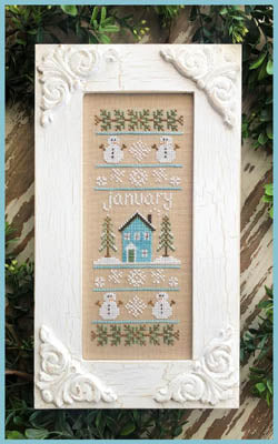 Country Cottage Needleworks ~ Sampler Of The Month - January