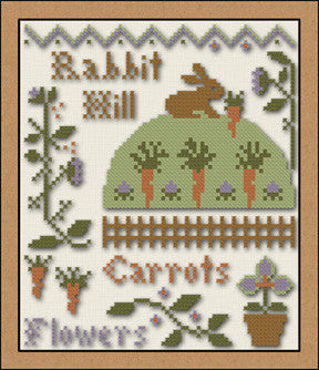 Little House/CC ~ Rabbit Hill w/5 skeins floss