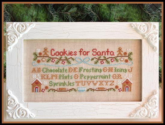Country Cottage Needleworks ~ Cookies For Santa