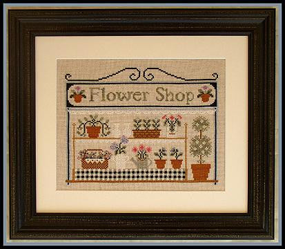 Country Cottage Needleworks ~ The Flower Shop