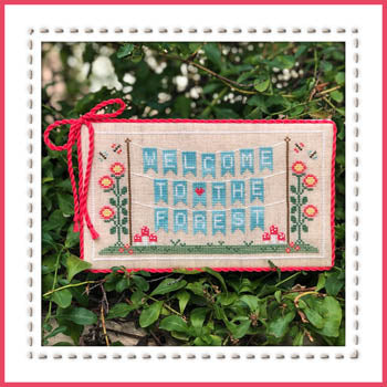 Country Cottage Needleworks ~ Forest Banner ~ Welcome to the Forest Part 1 of 7
