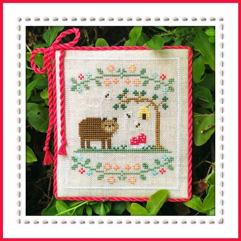 Country Cottage Needleworks ~  Forest Bear ~ Welcome to the Forest Part 7 of 7