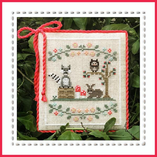 Country Cottage Needleworks ~ Forest Raccoon & Friends ~ Welcome to the Forest Part 3 of 7