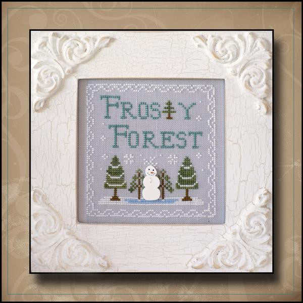 Country Cottage ~ Frosty Forest