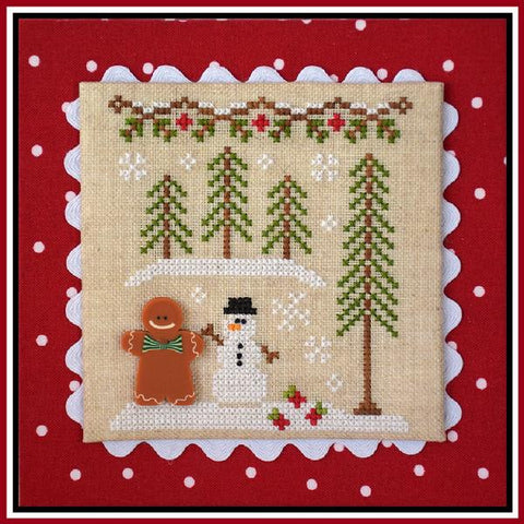 Country Cottage  ~ Gingerbread Boy & Snowman